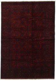 Afghán Khal Mohammadi Koberec 199X286 Orientální Ručně Tkaný Tmavě Červená (Vlna, Afghánistán)