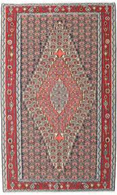 Kelim Senneh Koberec 150X248 Orientální Ruční Tkaní Světle Šedá/Tmavě Hnědá (Vlna, Persie/Írán)