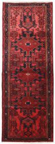 Hamedan Koberec 109X306 Orientální Ručně Tkaný Běhoun Tmavě Červená/Červená (Vlna, Persie/Írán)