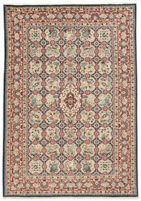 Varamin Koberec 203X285 Orientální Ručně Tkaný (Vlna/Hedvábí, Persie/Írán)