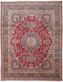 Kerman Koberec 303X391 Orientální Ručně Tkaný Tmavošedý/Tmavě Červená Velký (Vlna, Persie/Írán)
