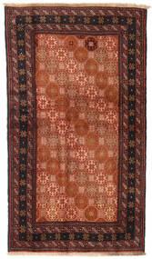 Beluch Koberec 100X172 Orientální Ručně Tkaný Červená/Černá (Vlna, Persie/Írán)
