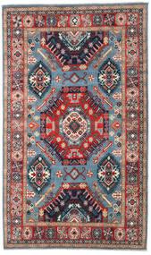 Kazak Koberec 198X332 Orientální Ručně Tkaný Tmavošedý/Tmavě Červená (Vlna, Afghánistán)