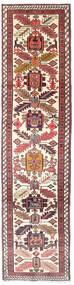 Ardebil Koberec 75X292 Orientální Ručně Tkaný Běhoun Béžová/Tmavě Červená (Vlna, Persie/Írán)