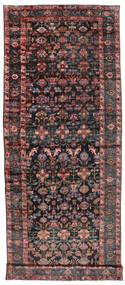 Sautchbulag 1920-1940 Koberec 230X620 Orientální Ručně Tkaný Běhoun Černá/Tmavě Červená (Vlna, Persie/Írán)