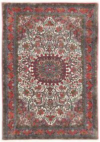 Bidjar Takab/Bukan Koberec 113X153 Orientální Ručně Tkaný Tmavošedý/Tmavě Červená (Vlna, Persie/Írán)