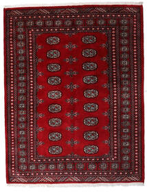 Pákistán Bokhara 3Ply Koberec 146X188 Orientální Ručně Tkaný Tmavě Červená/Tmavě Hnědá (Vlna, Pákistán)