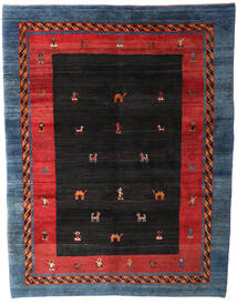 Gabbeh Rustic Koberec 235X305 Moderní Ručně Tkaný Černá/Tmavě Modrý (Vlna, Persie/Írán)