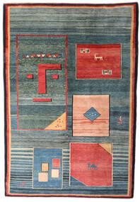 Gabbeh Rustic Koberec 210X310 Moderní Ručně Tkaný Modrá/Světle Modrý (Vlna, Persie/Írán)