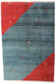 Gabbeh Rustic Koberec 203X305 Moderní Ručně Tkaný Modrá/Červenožlutá (Vlna, Persie/Írán)