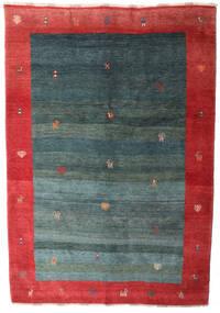 Gabbeh Rustic Koberec 229X332 Moderní Ručně Tkaný Tmavý Turquoise/Červenožlutá (Vlna, Persie/Írán)