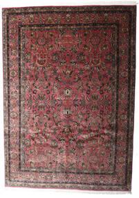 Keshan Indické Koberec 248X347 Orientální Ručně Tkaný Tmavě Hnědá/Tmavě Červená (Vlna, Indie)