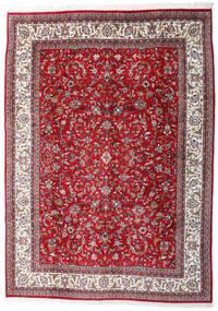 Sarough Indické Koberec 240X345 Orientální Ručně Tkaný Červená/Světle Šedá (Vlna, Indie)