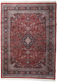 Keshan Indické Koberec 253X344 Orientální Ručně Tkaný Tmavě Hnědá/Tmavě Červená Velký (Vlna, Indie)