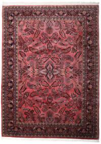 Sarough Indické Koberec 248X340 Orientální Ručně Tkaný Tmavě Hnědá/Tmavě Červená (Vlna, Indie)