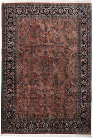 Keshan Indické Koberec 245X355 Orientální Ručně Tkaný Tmavě Hnědá/Černá (Vlna, Indie)