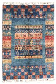 Moderní Afghán Koberec 87X124 Moderní Ručně Tkaný Tmavě Modrý/Modrá (Vlna, Afghánistán)