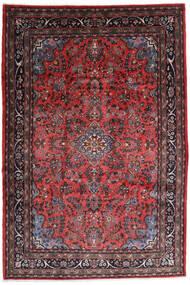 Hamedan Shahrbaf Koberec 217X315 Orientální Ručně Tkaný Tmavě Červená/Tmavě Hnědá (Vlna, Persie/Írán)