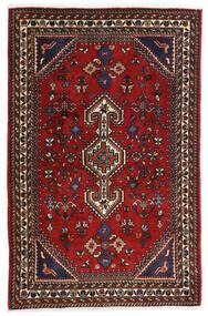 Ghashghai Koberec 80X125 Orientální Ručně Tkaný Tmavě Červená/Černá/Červenožlutá (Vlna, Persie/Írán)