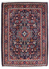 Hamedan Shahrbaf Koberec 72X100 Orientální Ručně Tkaný Tmavě Fialová/Tmavě Červená (Vlna, Persie/Írán)