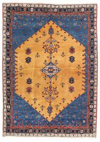 Gabbeh Kashkooli Koberec 124X174 Moderní Ručně Tkaný Světle Hnědá/Tmavě Modrý (Vlna, Persie/Írán)