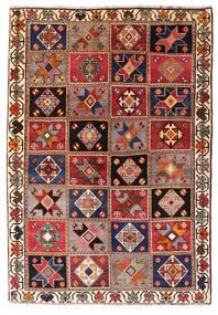Ghashghai Koberec 136X197 Orientální Ručně Tkaný Tmavě Červená/Tmavě Hnědá (Vlna, Persie/Írán)