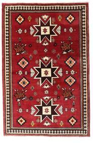 Ghashghai Koberec 127X197 Orientální Ručně Tkaný Tmavě Červená (Vlna, Persie/Írán)