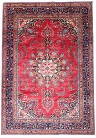 Mašhad Koberec 203X290 Orientální Ručně Tkaný Tmavě Fialová/Růžová (Vlna, Persie/Írán)