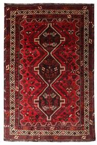Shiraz Koberec 170X259 Orientální Ručně Tkaný Tmavě Červená/Tmavě Hnědá (Vlna, Persie/Írán)