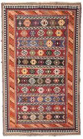 Kelim Vintage Koberec 162X270 Orientální Ruční Tkaní Tmavě Červená/Tmavě Hnědá (Vlna, Persie/Írán)