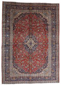 Keshan Koberec 287X403 Orientální Ručně Tkaný Tmavě Červená/Tmavě Hnědá Velký (Vlna, Persie/Írán)