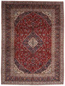 Keshan Koberec 294X400 Orientální Ručně Tkaný Tmavě Červená Velký (Vlna, Persie/Írán)