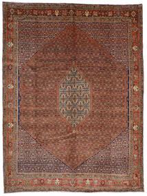 Bidjar Koberec 308X408 Orientální Ručně Tkaný Tmavě Červená/Tmavě Hnědá Velký (Vlna, Persie/Írán)