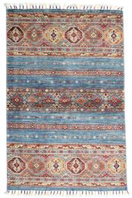 Shabargan Koberec 97X150 Moderní Ručně Tkaný Tmavošedý/Světle Šedá (Vlna, Afghánistán)