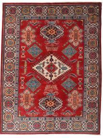 Kazak Koberec 152X198 Orientální Ručně Tkaný Tmavě Červená/Tmavě Hnědá (Vlna, Afghánistán)