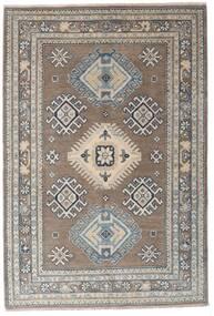 Kazak Koberec 117X173 Orientální Ručně Tkaný Světle Šedá/Tmavošedý (Vlna, Afghánistán)