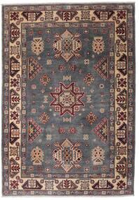 Kazak Koberec 121X175 Orientální Ručně Tkaný Tmavě Hnědá/Tmavošedý (Vlna, Afghánistán)