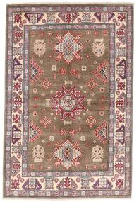 Kazak Koberec 119X179 Orientální Ručně Tkaný Hnědá/Světle Šedá (Vlna, Afghánistán)