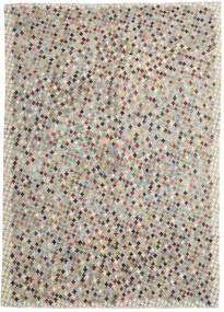 Kelim Afghán Old Style Koberec 210X290 Orientální Ruční Tkaní Světle Šedá/Světle Hnědá (Vlna, Afghánistán)