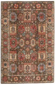 Kazak Koberec 197X299 Orientální Ručně Tkaný Světle Hnědá/Tmavě Hnědá (Vlna, Afghánistán)