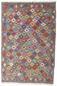 Kelim Afghán Old Style Koberec 84X125 Orientální Ruční Tkaní Tmavošedý/Světle Šedá (Vlna, Afghánistán)
