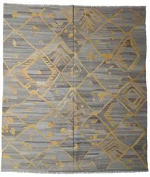 Kelim Ariana Koberec 261X291 Moderní Ruční Tkaní Světle Šedá/Tmavošedý/Světle Hnědá Velký (Vlna, Afghánistán)