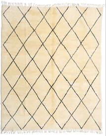 Berber Moroccan - Beni Ourain Koberec 280X345 Moderní Ručně Tkaný Béžová/Tmavá Béžová Velký (Vlna, Maroko)