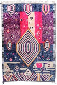 Berber Moroccan - Mid Atlas Koberec 216X315 Moderní Ručně Tkaný Růžová/Bílý/Krém (Vlna, Maroko)