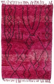 Berber Moroccan - Mid Atlas Koberec 121X198 Moderní Ručně Tkaný Červená/Tmavě Červená (Vlna, Maroko)