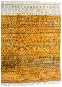 Berber Moroccan - Mid Atlas Koberec 302X400 Moderní Ručně Tkaný Žlutý/Béžová Velký (Vlna, Maroko)