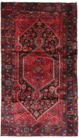 Hamedan Koberec 137X240 Orientální Ručně Tkaný Tmavě Červená/Červená (Vlna, Persie/Írán)