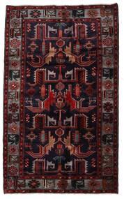 Hamedan Koberec 131X213 Orientální Ručně Tkaný Tmavě Červená (Vlna, Persie/Írán)