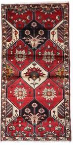 Hamedan Koberec 103X207 Orientální Ručně Tkaný Tmavě Červená/Černá (Vlna, Persie/Írán)