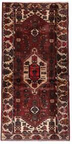 Hamedan Koberec 100X199 Orientální Ručně Tkaný Tmavě Červená/Světle Hnědá (Vlna, Persie/Írán)